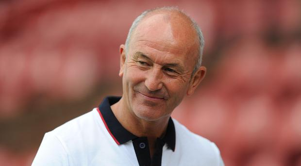 Speculation was mounting over Tony Pulis' future on Thursday evening
