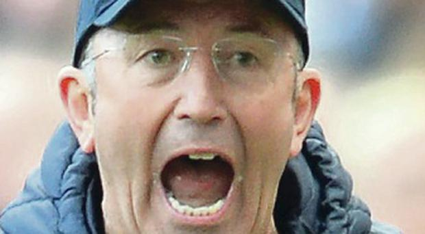 Shock departure: Tony Pulis left his post by mutual consent