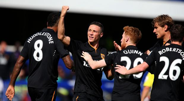 James Chester was the hero as Hull won in the capital