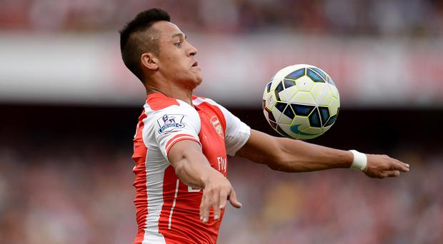 Alexis Sanchez laid on Arsenal's equaliser on his Premier League debut