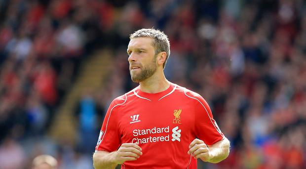 Liverpool's Rickie Lambert is confident his side will find their rhythm shortly