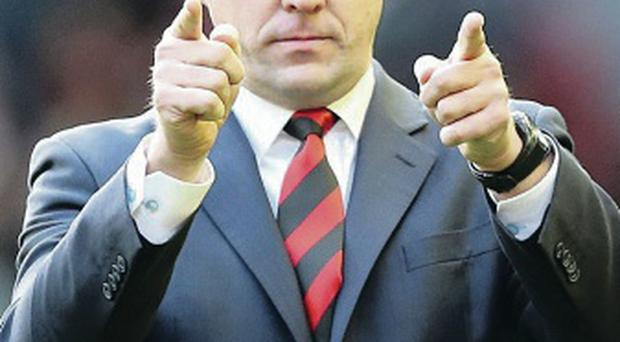 Come on down: Malky Mackay