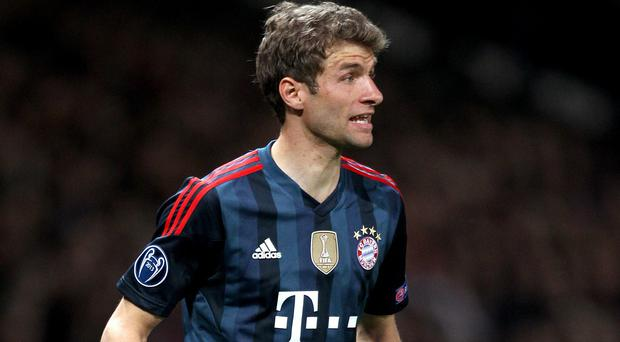 Thomas Muller turned down the opportunity join Manchester United