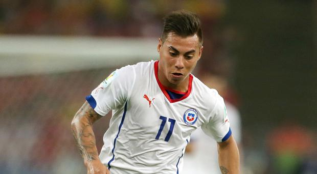The agent of Eduardo Vargas is in London