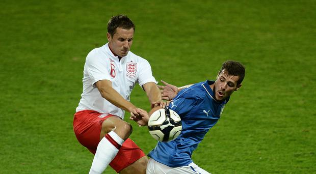 Mattia Destro, right, has been linked with a move to Chelsea