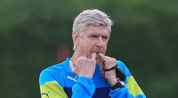 Arsenal manager Arsene Wenger says his side won't be bullied by opponents