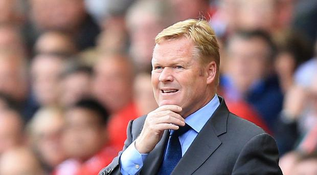 Southampton manager Ronald Koeman is still looking to add to his squad