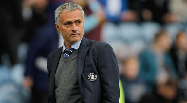 Chelsea manager Jose Mourinho has challenged his side to improve on their performance against Leicester