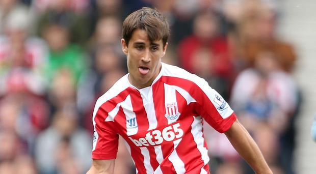 Stoke manager Mark Hughes expects summer signing Bojan Krkic, pictured, to come good