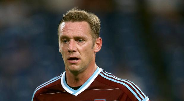Kevin Nolan is sidelined for West Ham