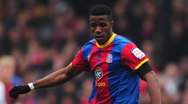 Wilfried Zaha made a instant impression on his return to Crystal Palace