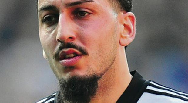 Failure: Kostas Mitroglou didn't save Fulham from relegation