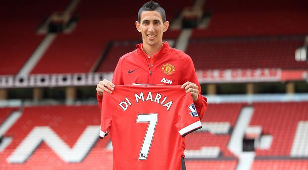 Manchester United broke the British transfer record to sign Angel di Maria and can spend again in January