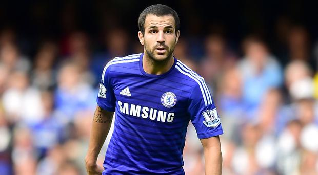 Former Arsenal captain Cesc Fabregas joined Chelsea in the summer