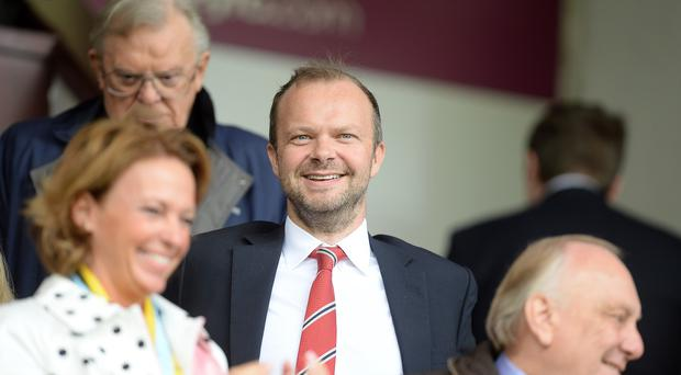 Manchester United chief executive Ed Woodward will speak to investors in the club