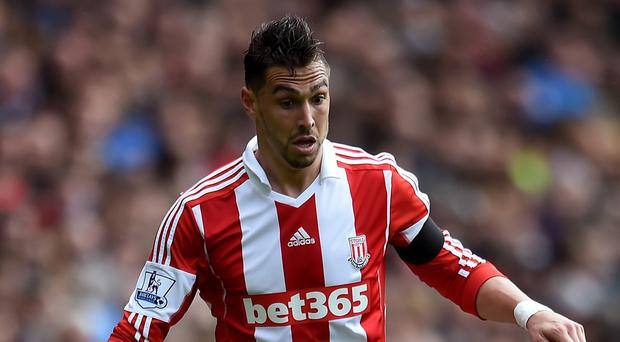 Stoke's Geoff Cameron is to undergo surgery on a hernia injury