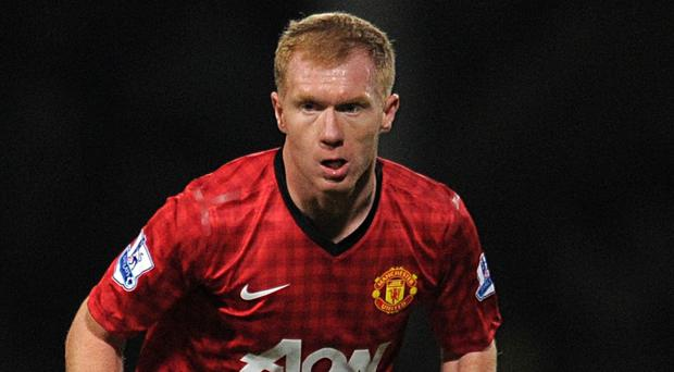 Cauldron: Paul Scholes believes Manchester derby is the theatre to make or break players