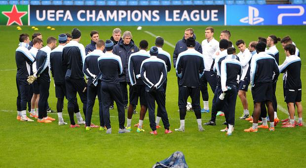 Manchester City will be training at their new complex next month