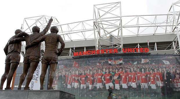 Manchester United have announced a record revenue for the 2013-14 season