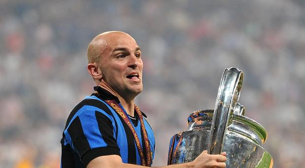 Esteban Cambiasso, pictured, has impressed Nigel Pearson since joining Leicester