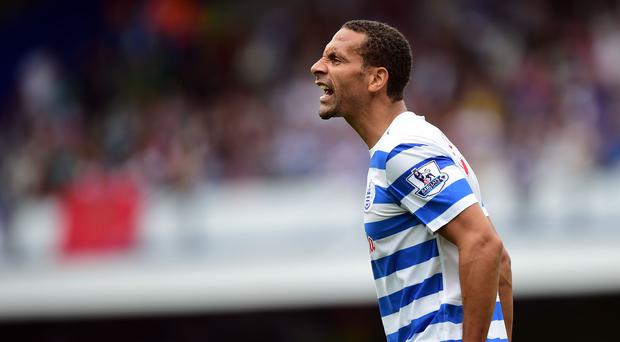 Rio Ferdinand joined QPR in the summer after 12 years at Manchester United