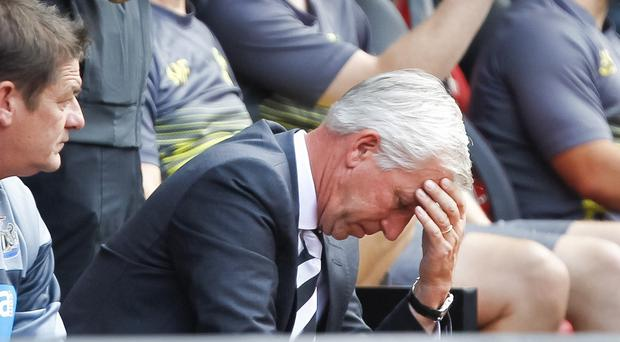 Under-fire Alan Pardew skipped Newcastle's post-match press conference