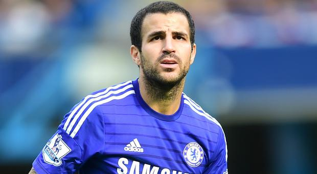 Chelsea boss Jose Mourinho believes playing in front of Cesc Fabregas, pictured, is a dream for striker Diego Costa