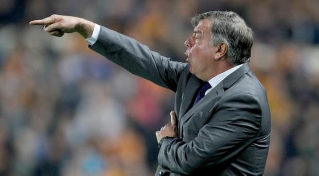 Sam Allardyce wants an improvement from his defenders after shipping two goals at Hull