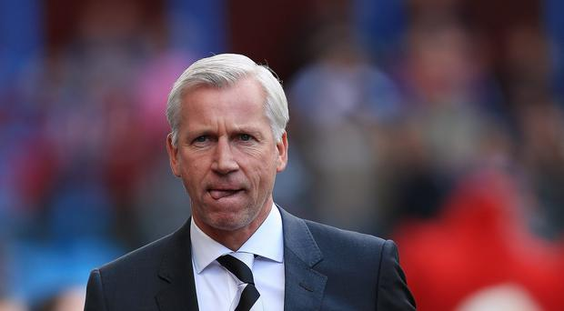 Alan Pardew's Newcastle currently sit bottom of the Premier League table