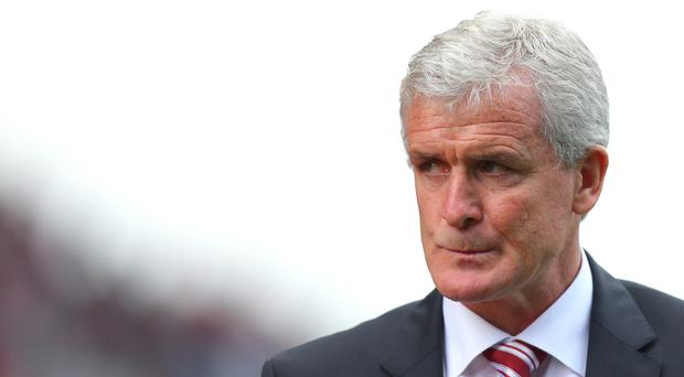 Stoke City manager Mark Hughes returns to his old club QPR on Saturday