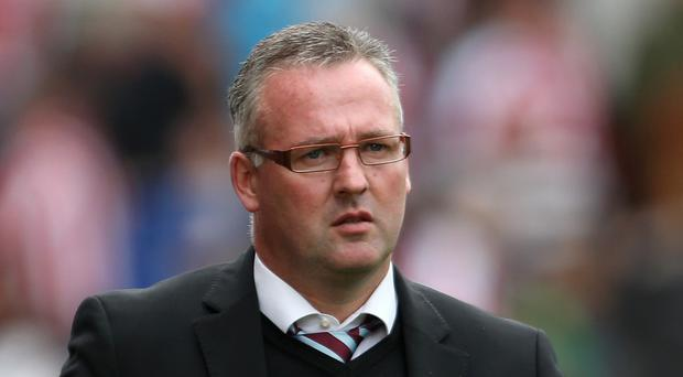 Aston Villa manager Paul Lambert wants to repeat Dortmund's result against Arsenal.