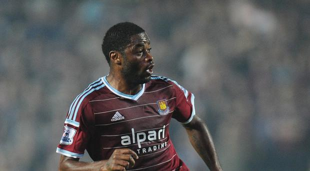 West Ham 's Alex Song is poised for his full debut
