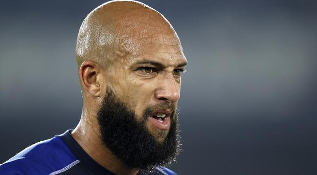 Tim Howard's focus is on Crystal Palace