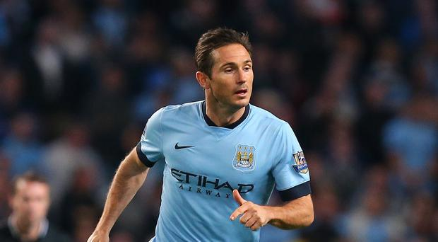 Frank Lampard has not discussed prolonging his stay in Manchester