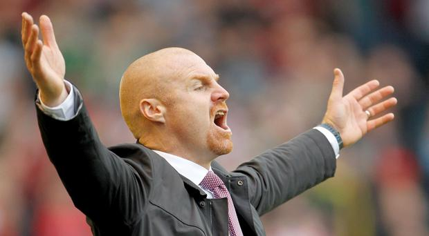 Sean Dyche's Burnley have failed to score in over 500 minutes