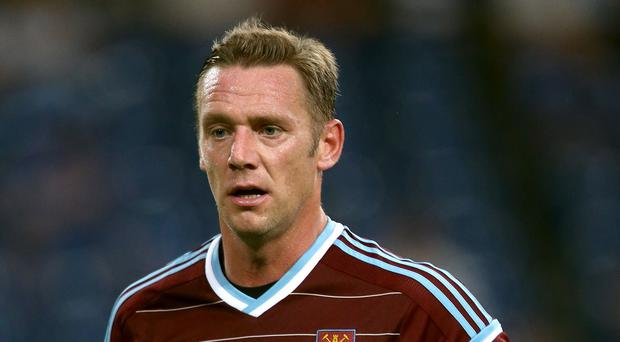 Kevin Nolan was furious his goal was ruled out for offside