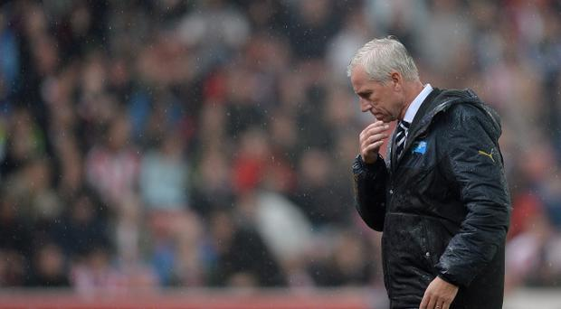 Under fire: Many Newcastle fans want Alan Pardew to be sacked