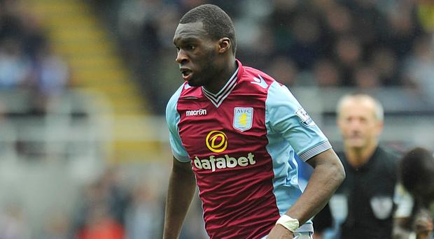 Dwight Yorke wants the pressure to lift on Christian Benteke, pictured, at Aston Villa