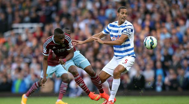 Paying the Penalty: QPR's Rio Ferdinand received a three match suspension for comments made on twitter