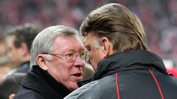 Sir Alex Ferguson has backed Louis van Gaal's Manchester United reign