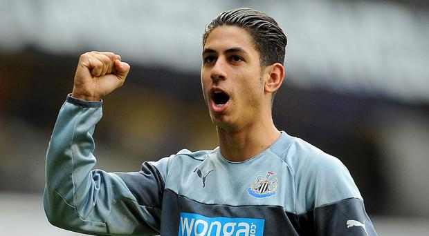 Ayoze Perez was Newcastle's match-winner in the Barclays Premier League game against Liverpool