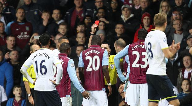 Aston Villa boss Paul Lambert refused to condemn