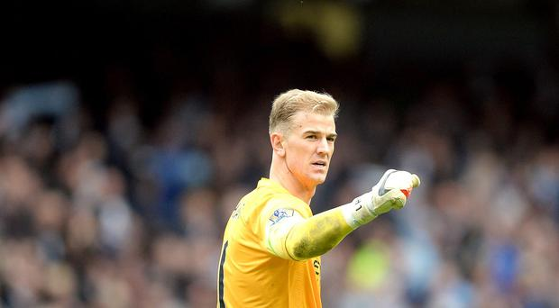Manchester City goalkeeper Joe Hart, pictured, has to be more consistent, according to former Germany star Oliver Kahn