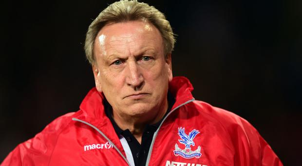 Crystal Palace boss Neil Warnock was less than pleased at some decisions in the loss to Sunderland