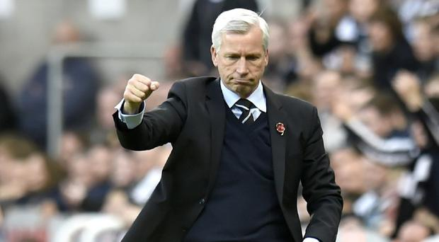 Alan Pardew, pictured, has drawn on the support of his players to transform Newcastle's fortunes
