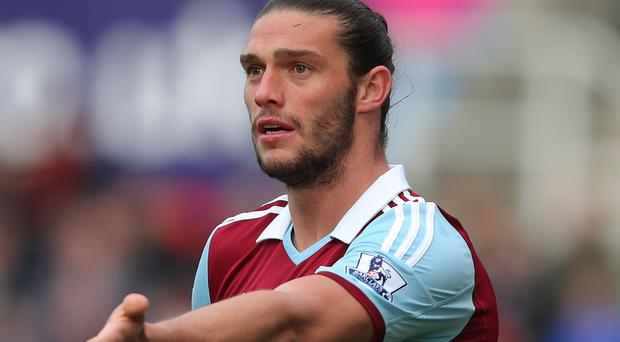 West Ham forward Andy Carroll is closing in on full match fitness following an ankle injury
