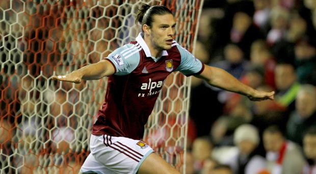 Andy Carroll is not guaranteed a start for West Ham