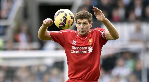 Steven Gerrard will return to the starting line-up to face Chelsea