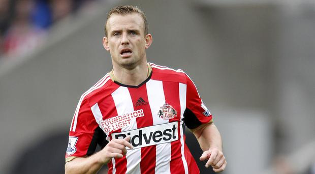 Lee Cattermole will miss Sunday's Premier League clash with Everton through suspension
