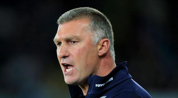 Leicester manager Nigel Pearson has rejected any growing pressure.